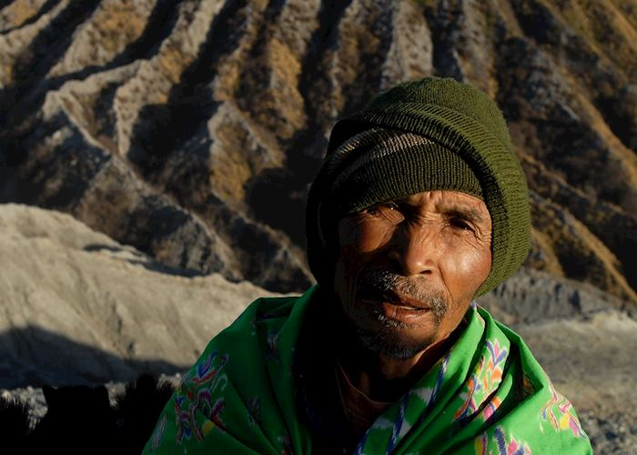 Local guide, Mount Bromo, Indonesia