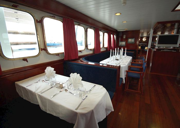 Dining area, SS Mary Anne