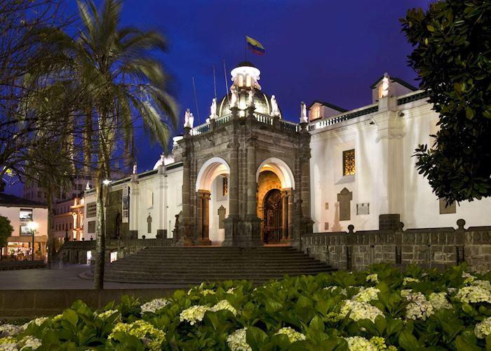 El Palacio del Gobierno, Plaza Grande, Quito