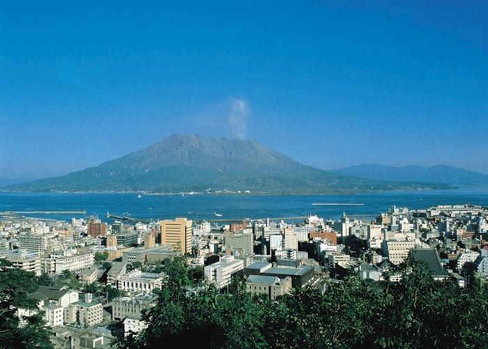 Sakura-jima, off Kagoshima