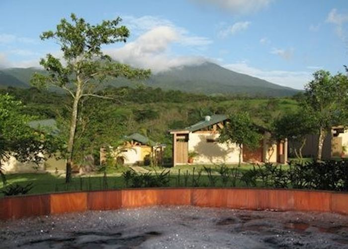 View of Tenorio Volcano from Tenorio Lodge