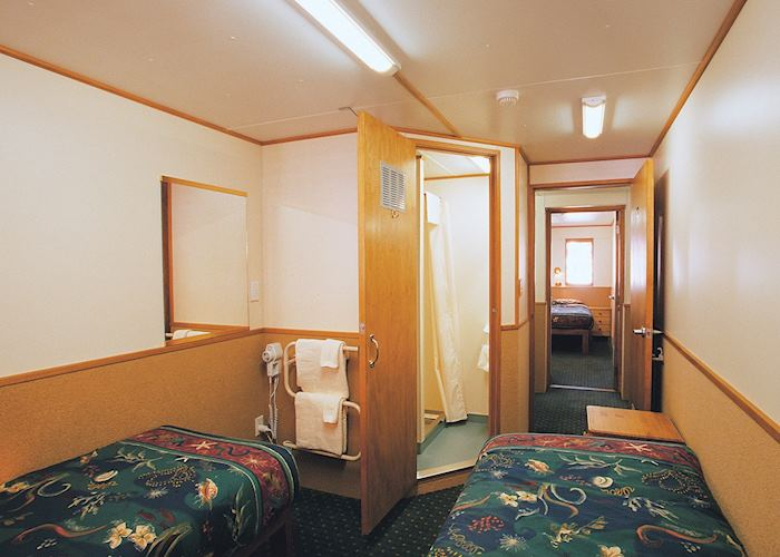 Cabin, Milford Mariner, Milford Sound