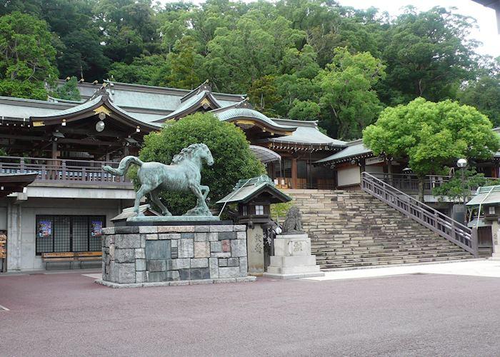 Shrine grounds, Nagasaki