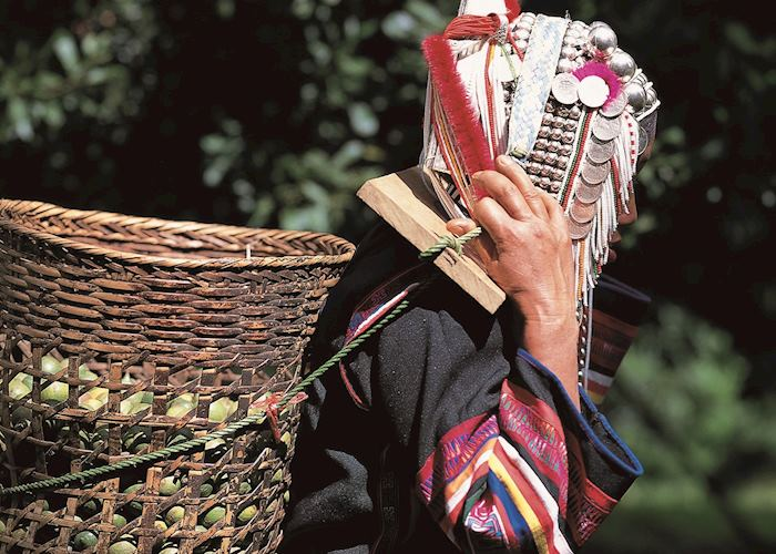 Ethnic hilltribes live in harmony with nature in northern Thailand