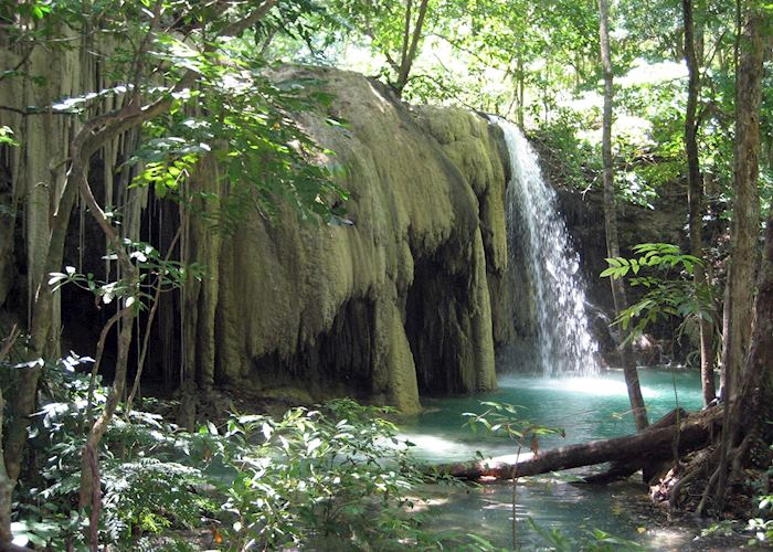 Waterfall on Moyo Island