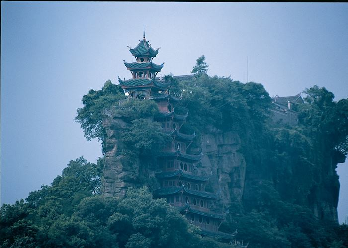 Shibaozhai Pagoda, on the River Yangtze