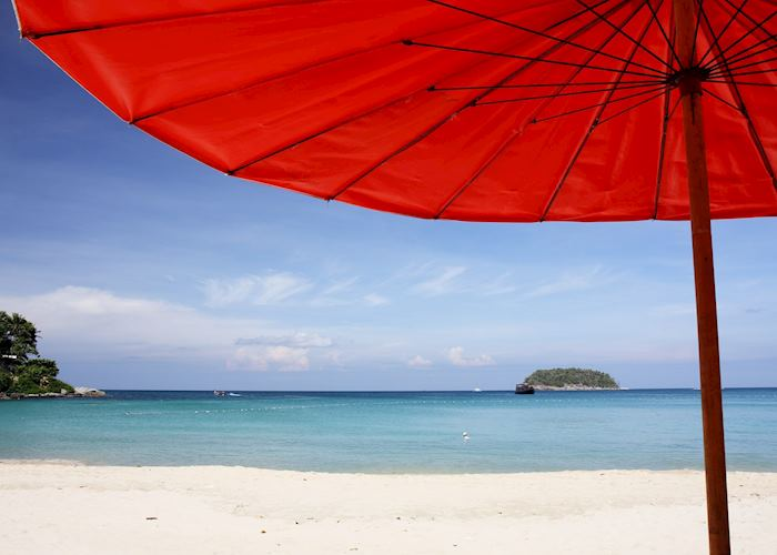 Relaxing in the shade on Phuket, Thailand