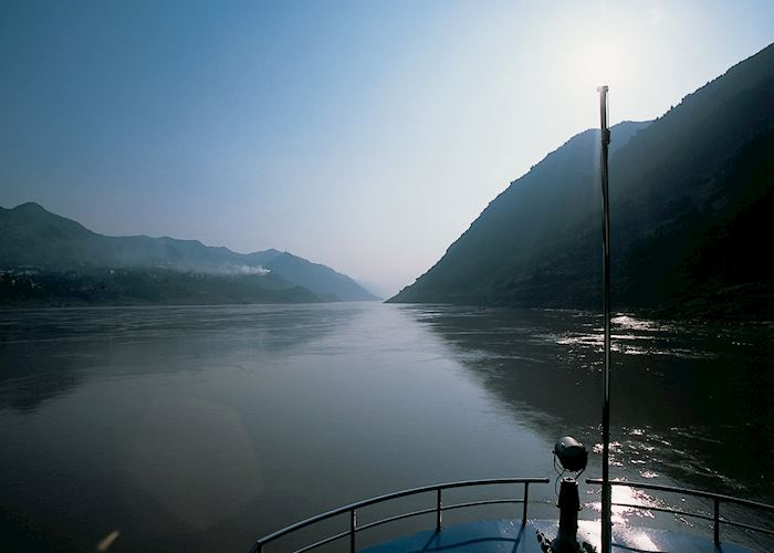 Sunrise on the Yangtse, Chongqing