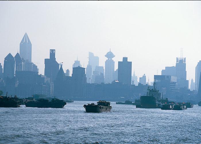 On the Yangtze River at Shanghai