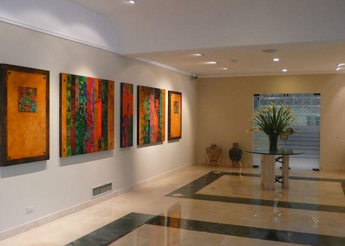 Reception area, Hotel El Pardo, Lima