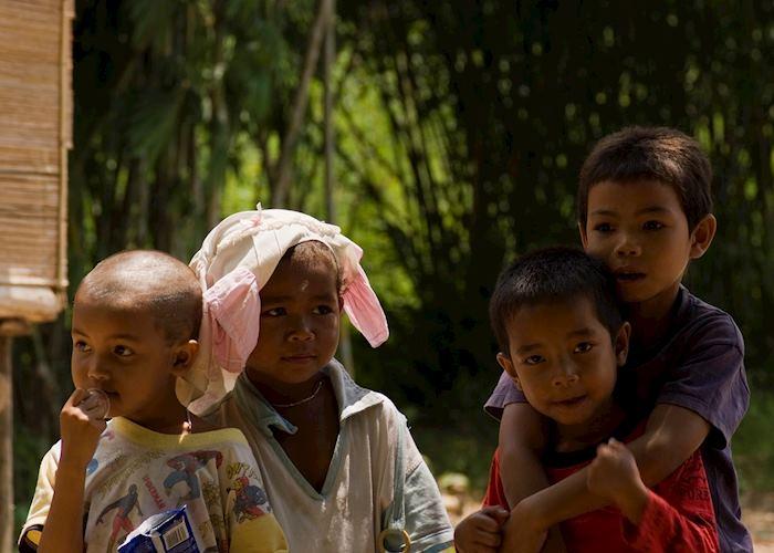 Children in George Town, Malaysia