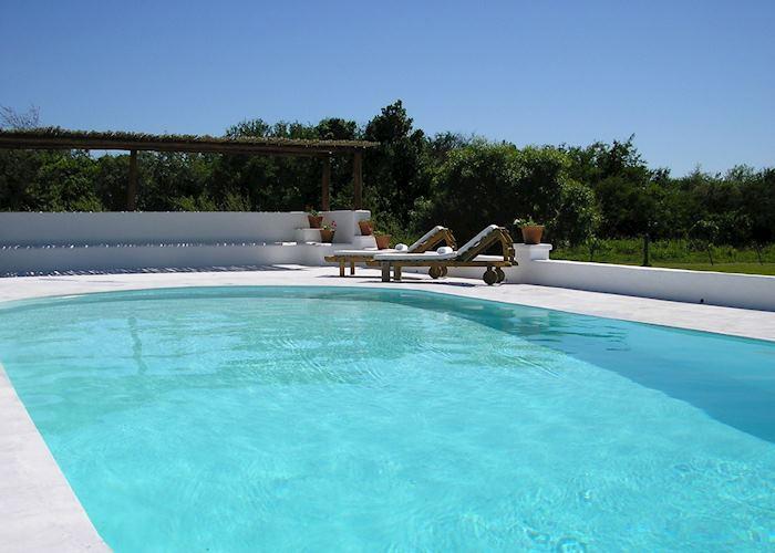 Pool at Posada de la Laguna