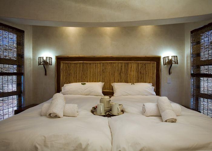 Family Chalet (4 bed), Halali Rest Camp, Etosha National Park