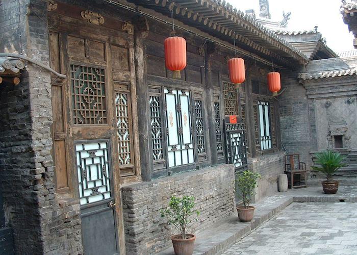 Yide Guesthouse courtyard, Pingyao