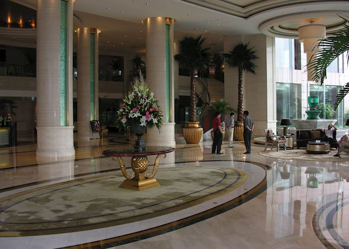 Sofitel foyer, Chengdu