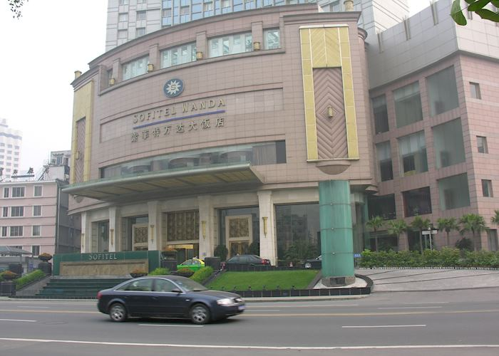 Sofitel entrance, Chengdu