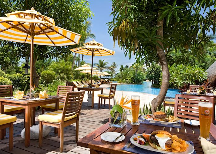 Pool side restaurant, Narada Resort & Spa Sanya, Hainan Island