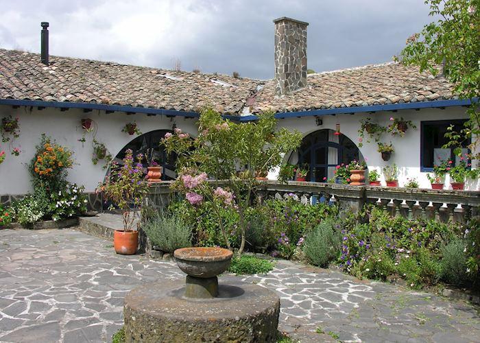 Central courtyard, Haceinda Zuleta