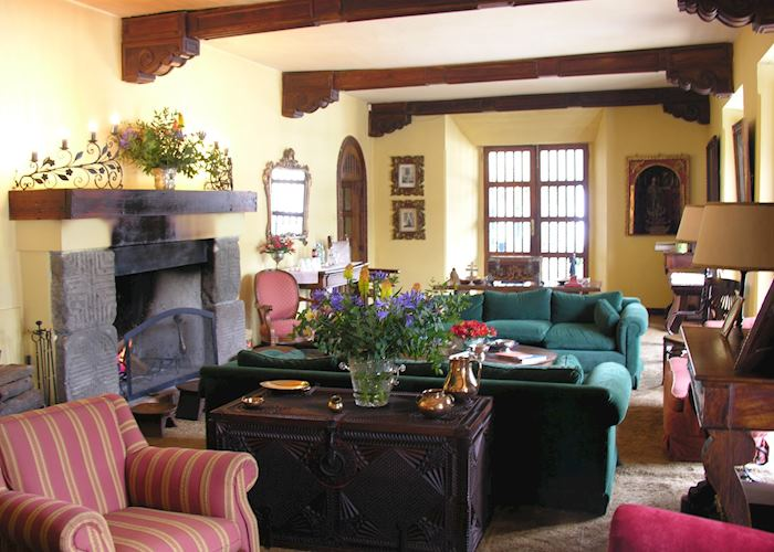 Living room, Hacienda Zuleta