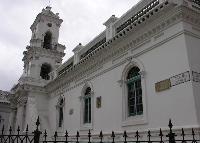 Cuenca church