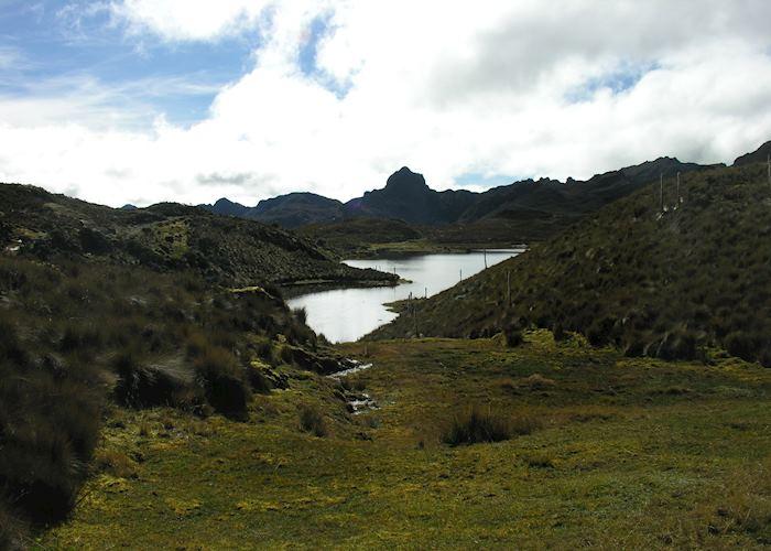 Rosario lakes in El Cajas National Park