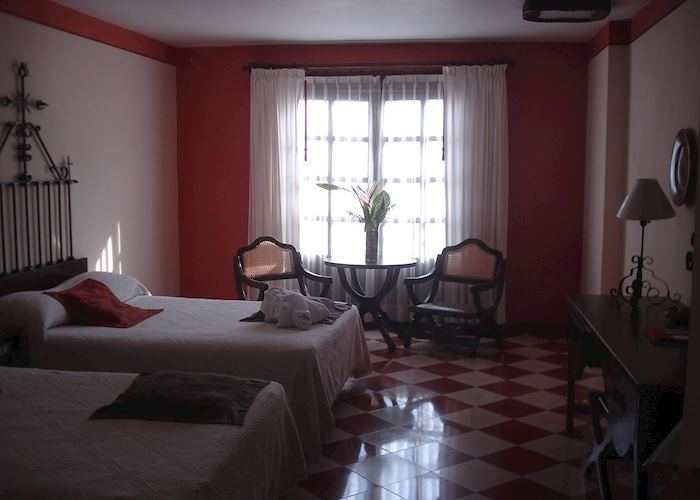 Standard room, Casa del Balam, Merida