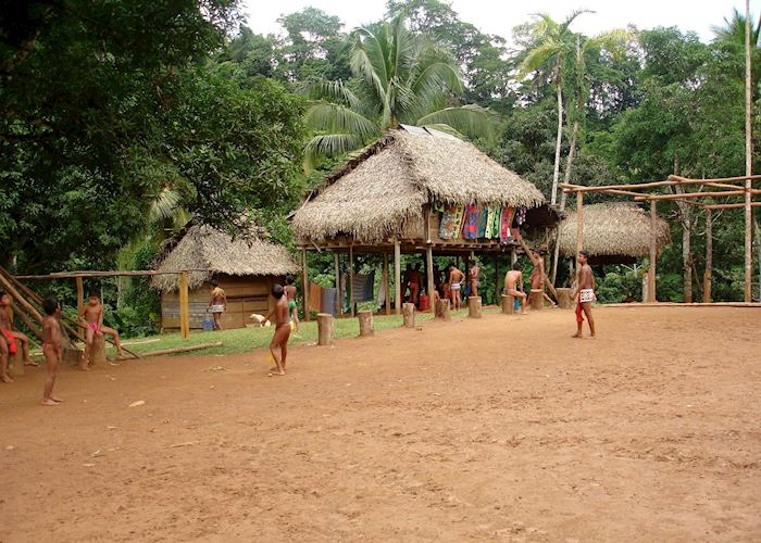 Embera village, Panama