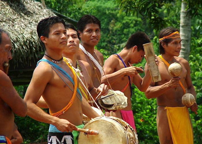 Embera Indians. Panama