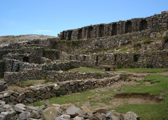 Chincana Ruins, Sun Island