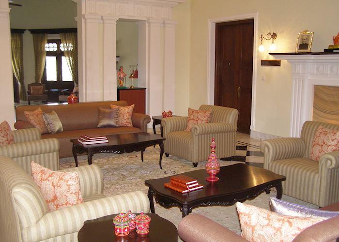 Lounge at Nadesar Palace, Varanasi