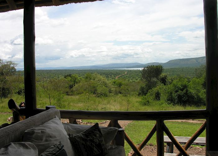 View from Mantana Tented Camp