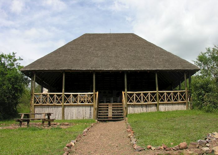 Dining & lounge area at Mantana Tented Camp