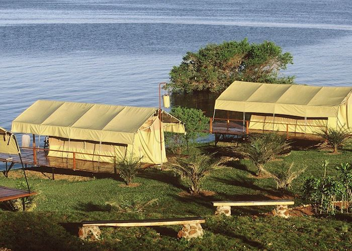 Ngamba Island Tented Camp, Lake Victoria