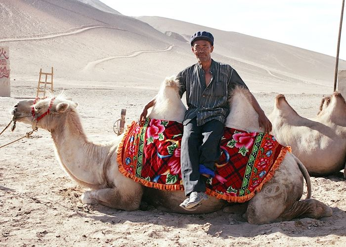 Camel Owner, Dunhuang