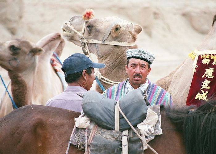 Camel Owners, Dunhuang