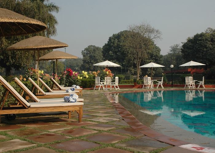 Pool at The Gateway Hotel, Varanasi