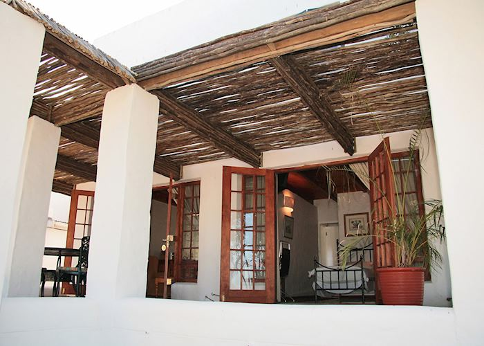 The Cottage Exterior. The Farmhouse Hotel, Langebaan