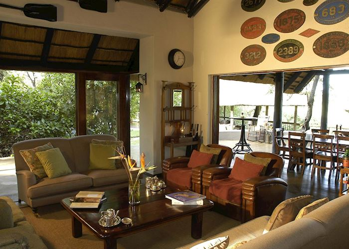 Selati lounge area, Sabi Sabi Selati Lodge, The Sabi Sand Wildtuin