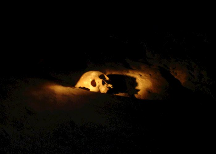 Skull, ATM Cave