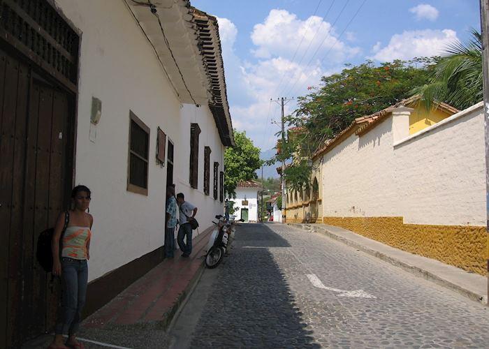 Street scene, Santa Fe de Antioquia