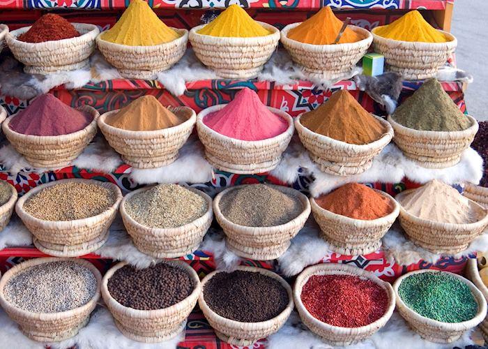 Spices, Khan El Khalili, Cairo