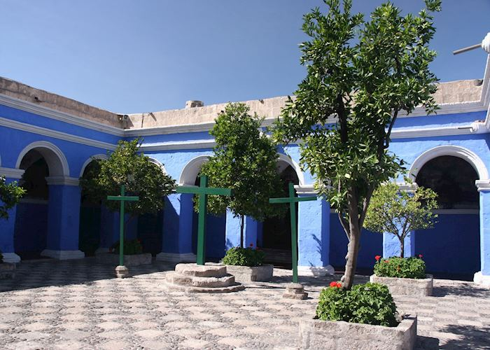 Orange Tree Cloister, Santa Catalina Convent