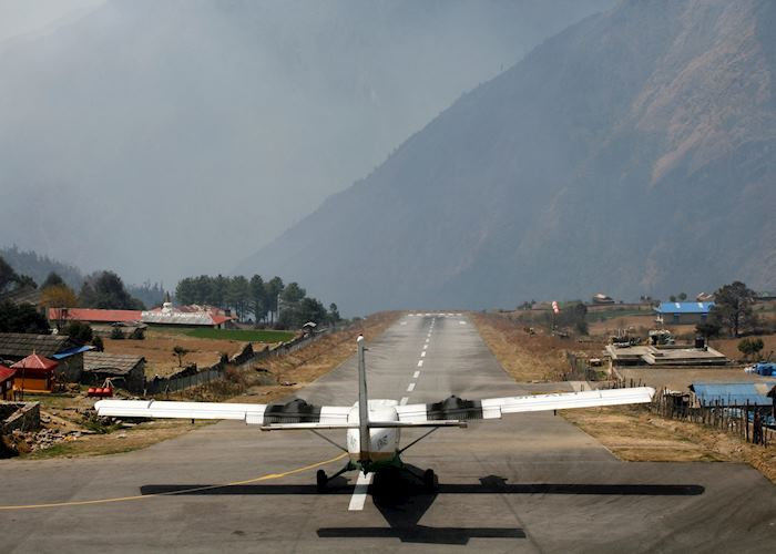Lukla airstrip,  Nepal