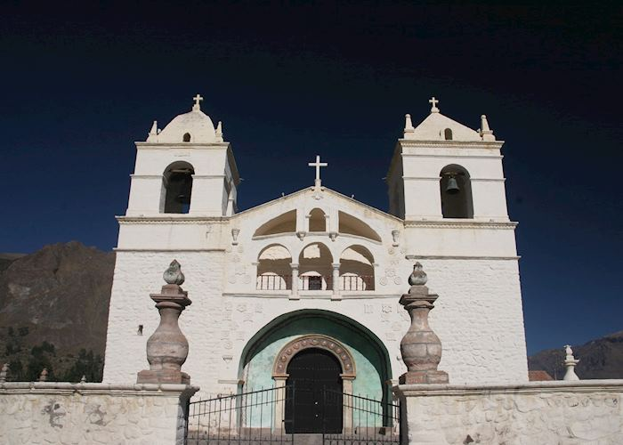The church in Yanque, Colca Canyon