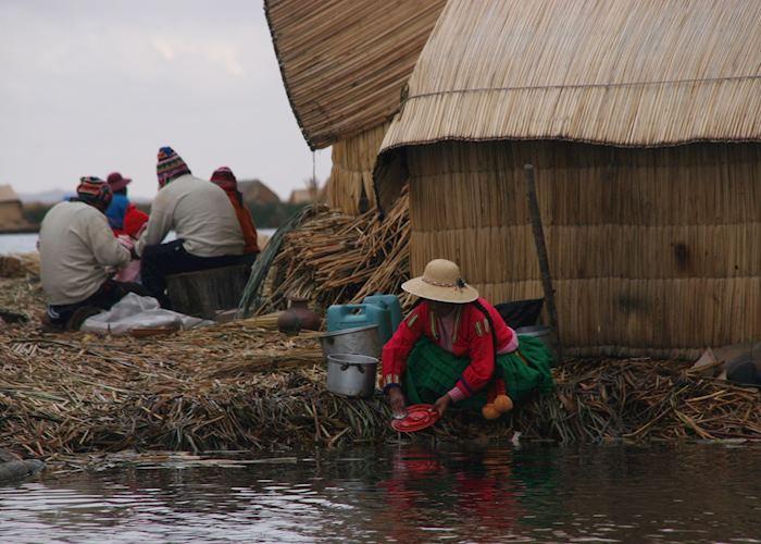 Uros Islanders, Lake Titicaca