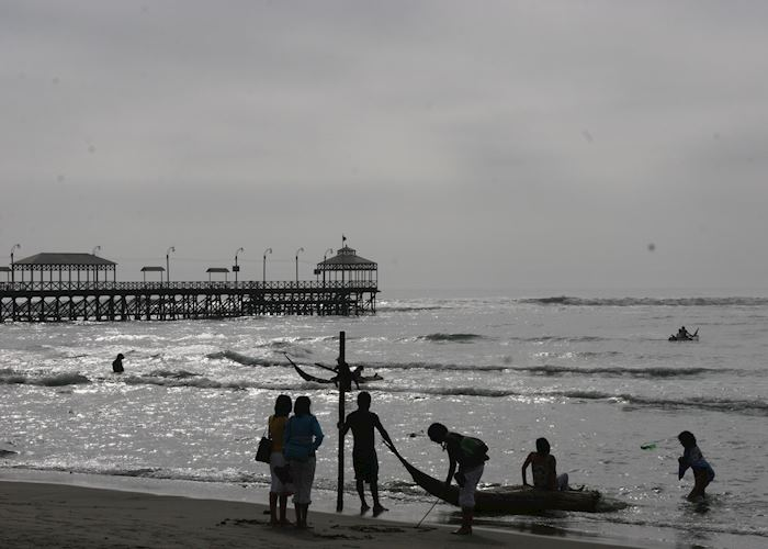The pier on Huanchaco beach