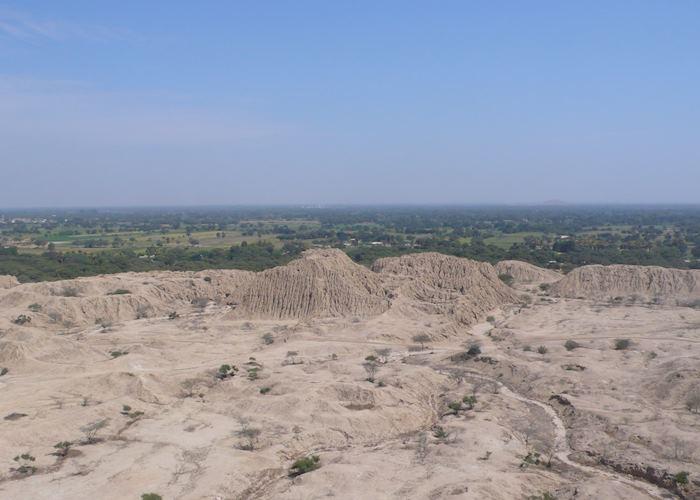 Tucume pyramids near Chiclayo