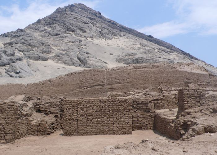Cerro Blanco, the Sacred mountain for the Moche civilisation