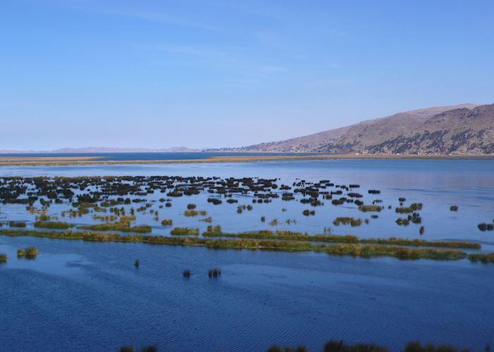 Lake surrounding Titilaka hotel