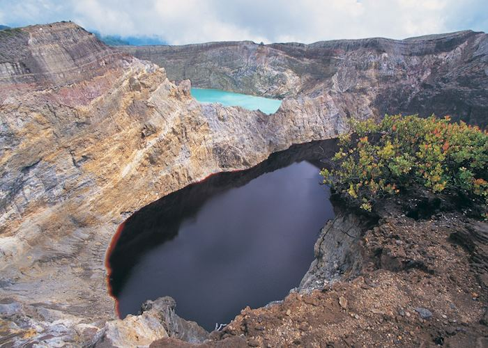 The crater lakes of Kelimutu, Flores, Indonesia